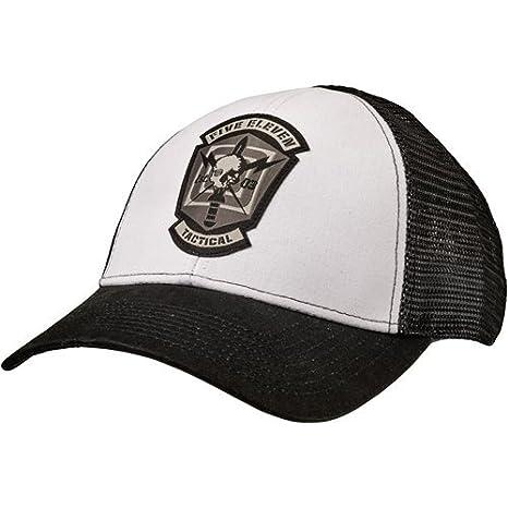 5.11 89418 Skull Meshback Cap, White