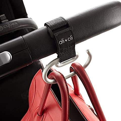 Modern Stroller Hook - Universal Fit for Walkers, Wheel Chairs, Buggy's & Prams - 20 User Lab Pack