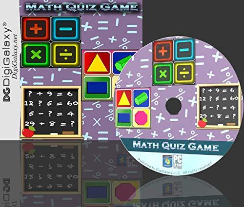 Math Quiz Game – Fine-tune Kids Arithmetic skills (Windows10 compatible)