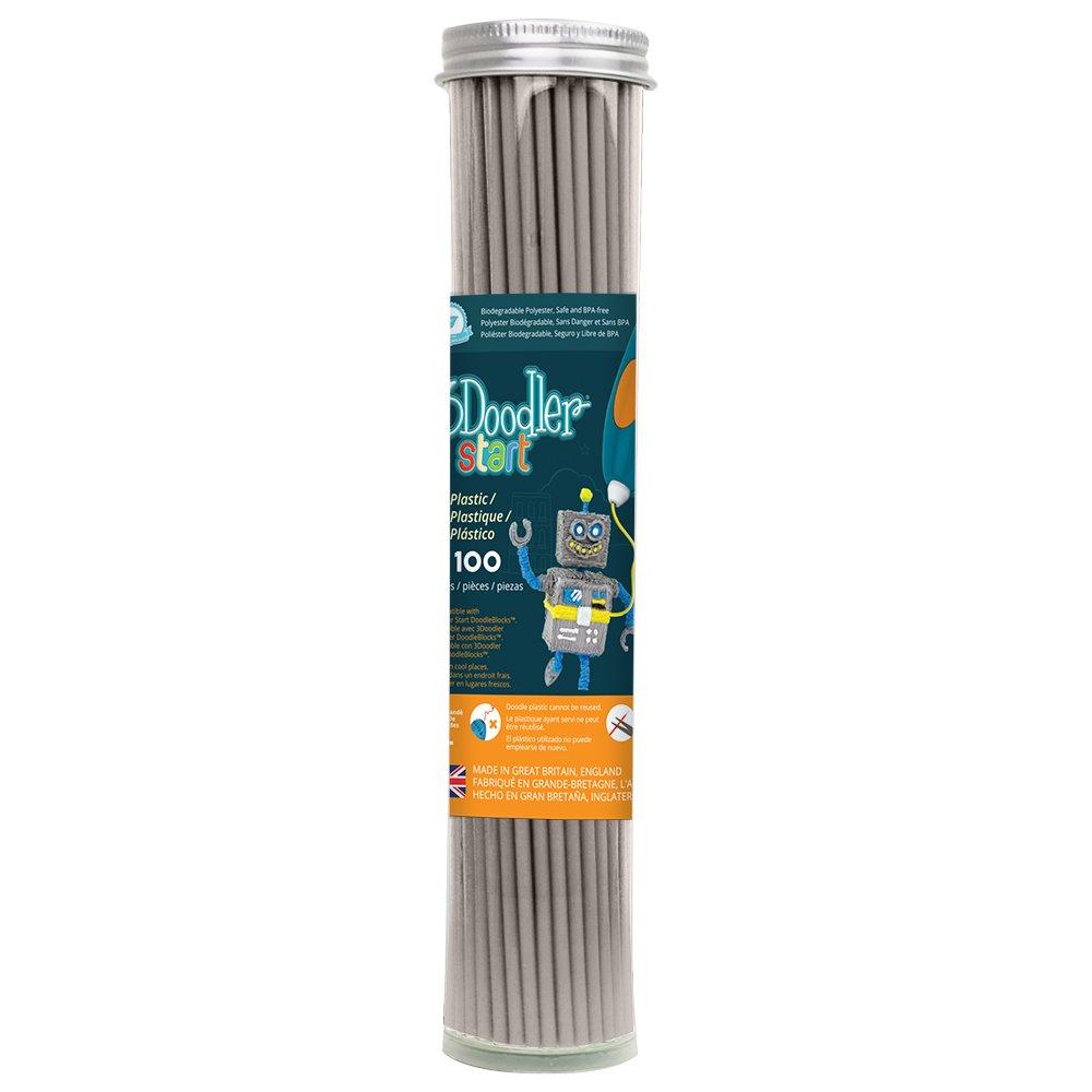 3Doodler Start Refill plastica stampanti 3D WobbleWorks Inc. 3DS-ECO19-BBLUE-100