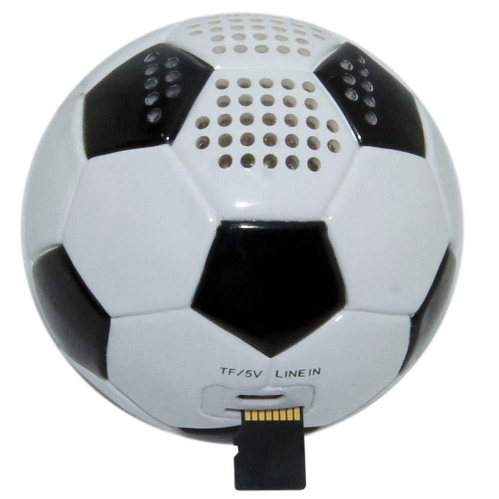 Music Angel JH-ZQBT3 Mini Fútbol Super Bass MP3 Player Support TF ...