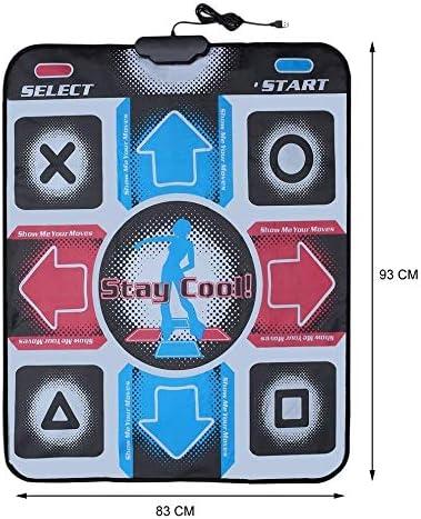 Dance tapijt Dansen Mat Dance Pad Dancing Dans van de Stap Mats Pad Pads Dancer Deken Equipment Revolution HD Non-Slip Foot Print Mat naar PC met USB