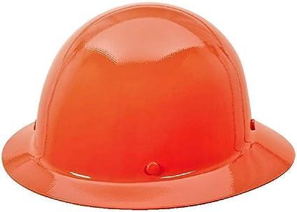 MSA 454673 Skullgard Protective Hard Hat Full Brim, Staz-on