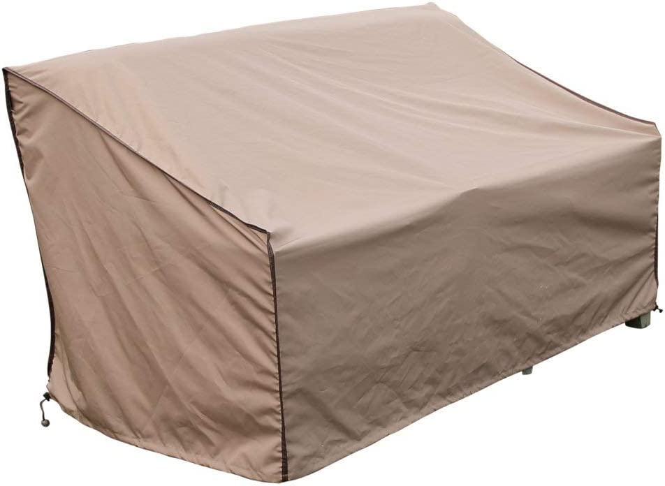 TrueShade Plus CC0953436TN 3 Seat Sofa Outdoor Furniture Cover, Large 34 x 95 x 36 24 , Tan