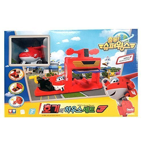 Super Wings Hogi House Play Set(children's Gifts, Promotional) 40.6*22.5*15cm