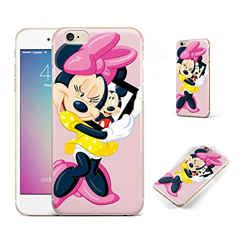 us case,iphone 6s plus Case Disney Cartoon Mickey Minnie Mouse Soft Transparent TPU Protector Cover for iphone 6 plus/iphone 6s plus (5.5 inches) #05 ()
