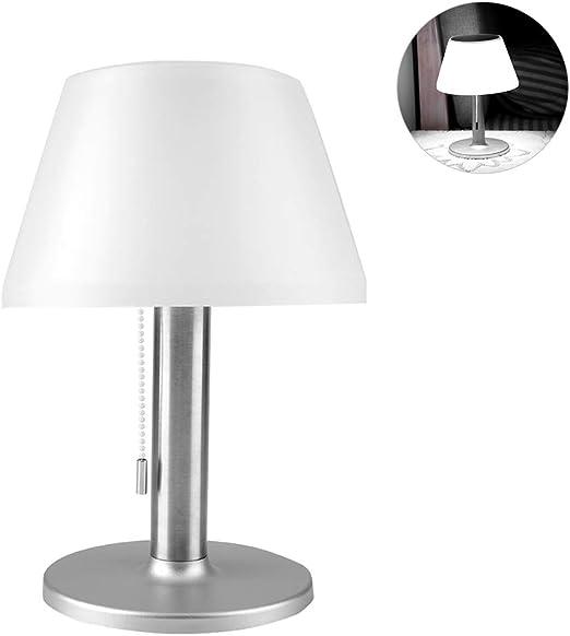 Riuty Lámpara de Mesa LED Solar, lámpara de Escritorio LED ...
