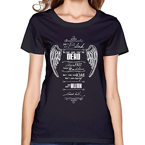 Blink And You Re Dead Doctor Who The Hand Of Fear The Deadly Assassin Nice Women's T-shirts T-shirt (The Deadly Assassin Doctor Who)