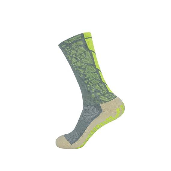 Kairuun Hombre Antideslizante Calcetines De Fútbol Calcetines de Deporte Almohadillas de Goma Baloncesto Senderismo Running: Amazon.es: Ropa y accesorios