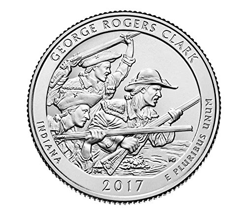 2017 S Bankroll of 40 - George Rogers Clark National Historical Park, IN Uncirculated