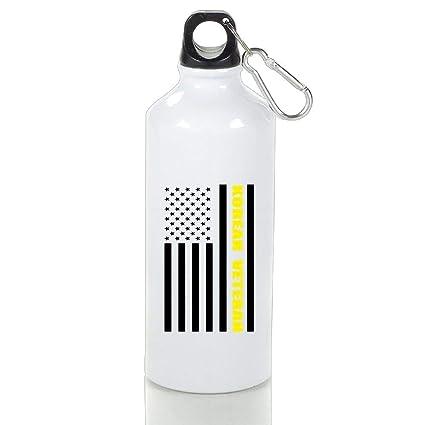 Amazon Com Bellm Motorcycle Aluminum Water Bottle Korean Veteran