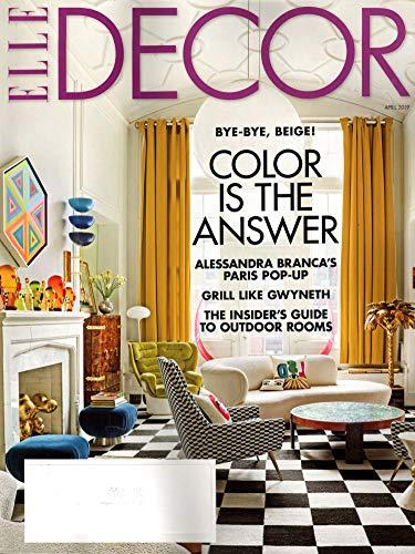 Elle Decor Magazine - Elle Decor Magazine April 2019 | Color is the Answer