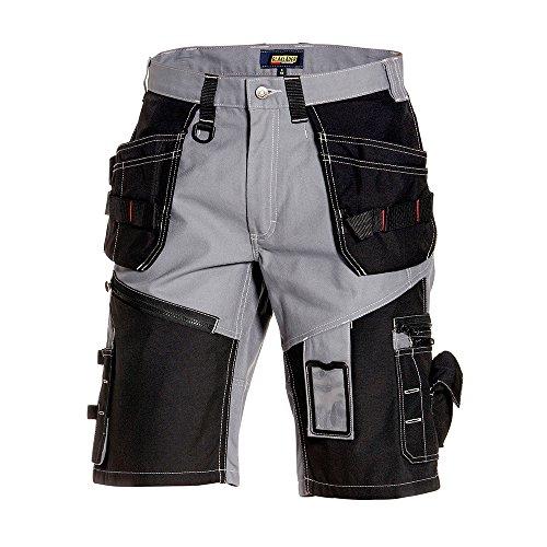 """Blåkläder Workwear Handwerker-Shorts """"1502"""" X1500, 1 Stück, C48, grau / schwarz, 67-15021370-9499-C48"""