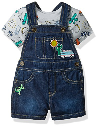 The Children's Place Baby Boys' Shortalls, Atmosphere 79504, - Boy Shortalls Baby