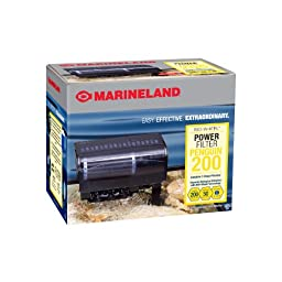 Marineland Penguin 200, Power Filter, 30 to 50-Gallon, 200 GPH, Size C