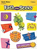 Faith That Sticks Everyday Encouragement Stickers, 60 Sheets Of 9CT, Total Of 540 Stickers
