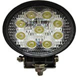 SHANREN Sharp Series 27W Round LED Work Light Lamp Off Road High Power ATV Jeep 4x4 Tractor 60 Degree Flood Light