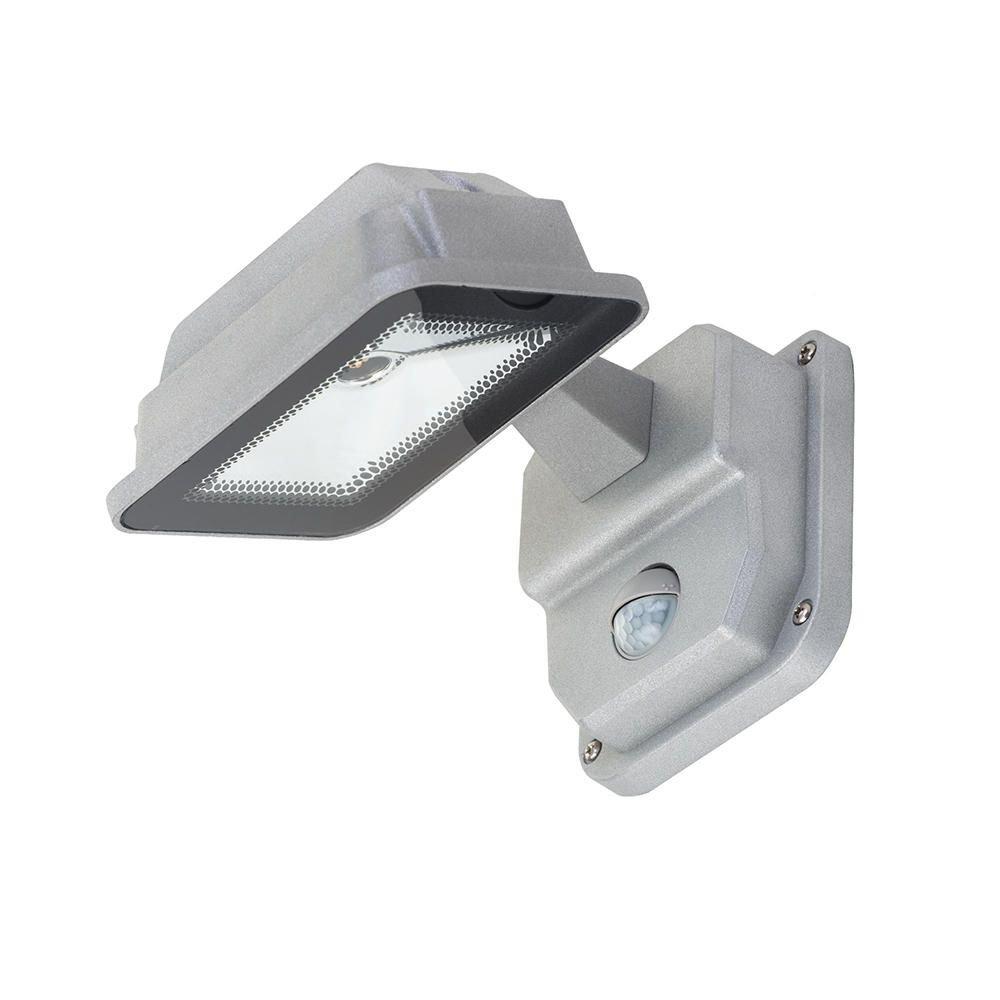 Aluminium Litecraft Outdoor LED Wall Lantern with PIR Sensor