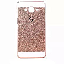 KSHOP Accessory Set for LG D331 D335 D337 Bling Sparkling PC Hard Case Cover Perfect Fit Coque Etui Glitter Shinning Back Cover Ultra Slim Practical Shell Housse Anit-scratch Protective Bumper - Gold Or