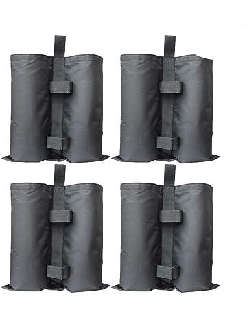 RIOGOO 4pcs-Pack Bolsas Pesadas de Arena Cosida de Grado Industrial para Trabajo Pesado,