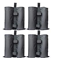 RIOGOO 4pcs-Pack Pesos para Carpas Bolsas Pesadas de Arena Cosida de Grado Industrial para Trabajo Pesado, Pesas de…