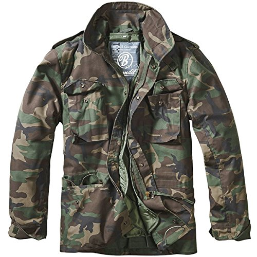 Brandit Men's M-65 Classic Jacket Woodland Size 5XL