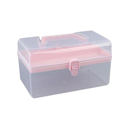 afc98651286f Amazon.com: AmyDong Storage Box,Clearance Clear Plastic Toolbox ...