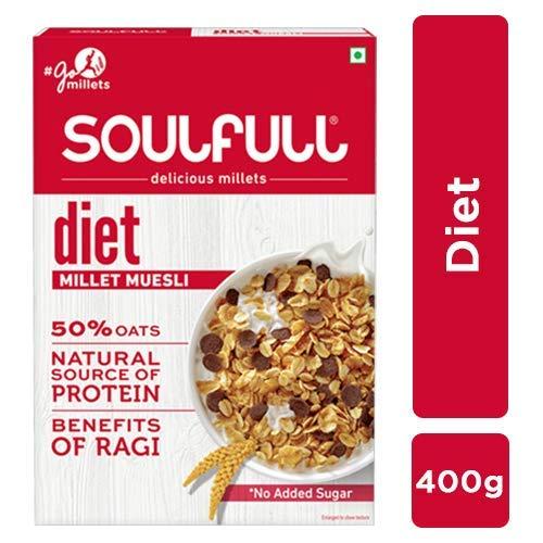 Soulfull Millet Muesli Diet , 400g
