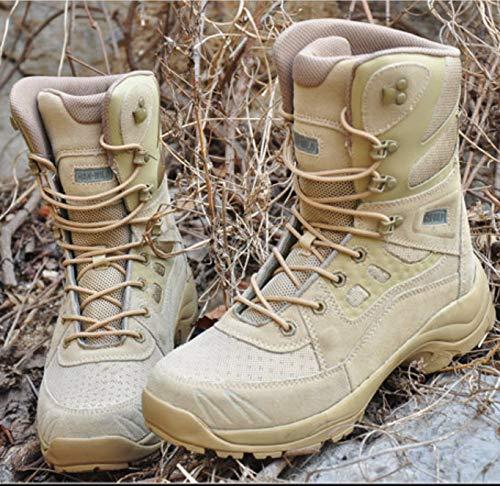 HCBYJ Schuhe Schuhe Schuhe Ultraleichte Kampfstiefel Special Forces Militärstiefel Herren Frühjahr und Herbst Outdoor Wanderschuhe verlassen 7e9f9f