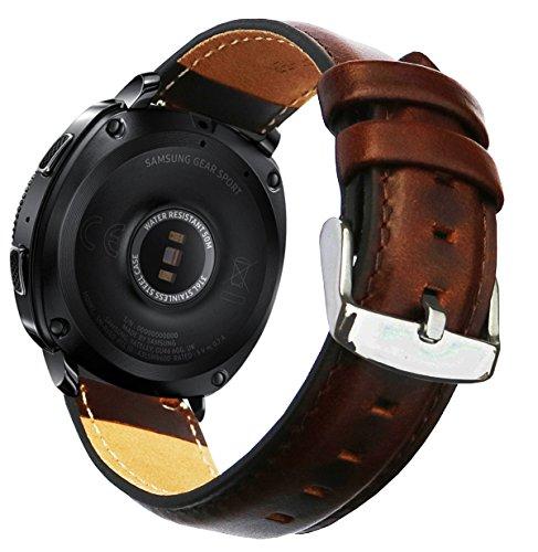 Ticwatch E & Galaxy Watch 42mm Bands, 20mm Quick Release Gar
