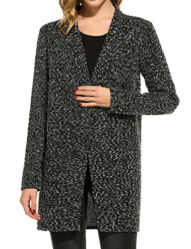 Meaneor Womens Back Cardigan Sweater