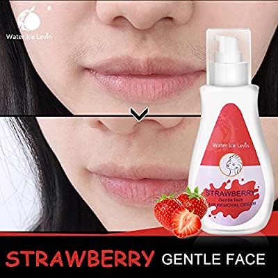 Hair Removal Cream water ice levin Natural Painless Permanent Thick Facial Hair Off cream Professional facial hair removal