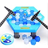 Puzzle table games penguin ice pounding penguin ice cubes save penguin knock ice block wall toys desktop paternity interactive game