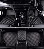 Autofurnish 5D Man-Made Leather Fitted Car Mats for BMW X1 2017, Black