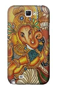 S0440 Hindu God Ganesha Case Cover for Samsung Galaxy Note 2