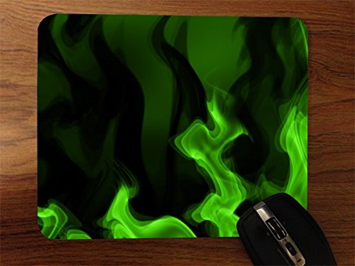 Price comparison product image Green Smoke Desktop Office Silicone Mouse Pad by Moonlight Printing