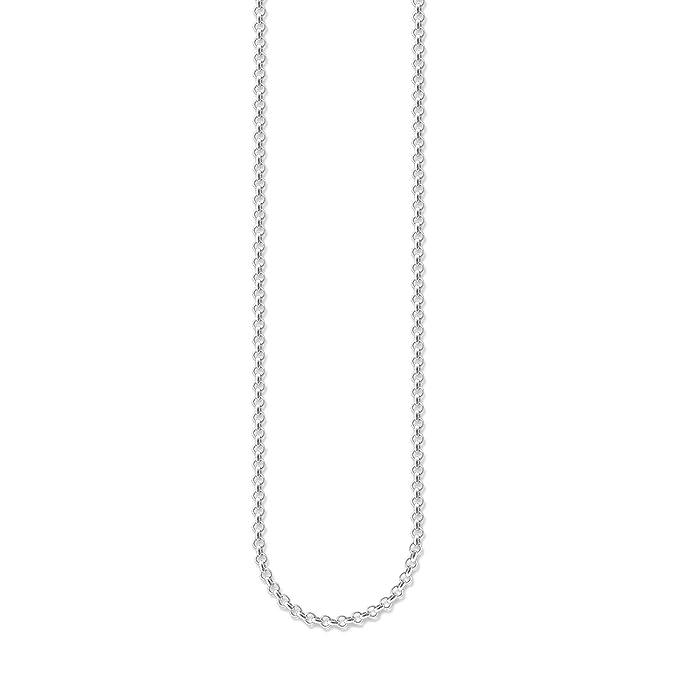b56e940bd377 Thomas Sabo - Collar para Mujer de Plata de Ley 925 1000 38-42 cm   Amazon.es  Joyería