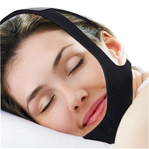 New Chin Straps Stop Snoring Devices , Improved Version Triangle Type Comfortable Adjustable, Best anti snore devices for you