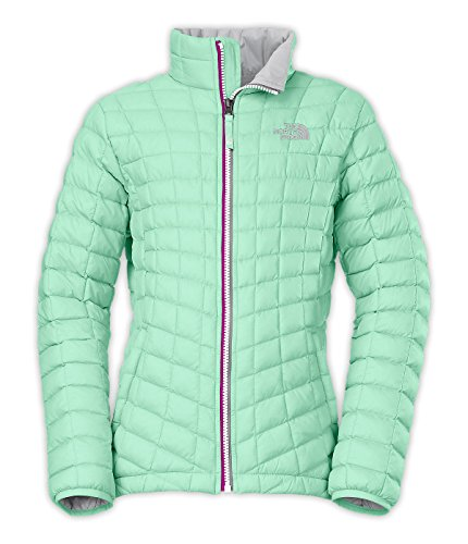 The North Face Girls' Thermoball Full Zip Jacket 2015,Surf Green,US XS by The North Face