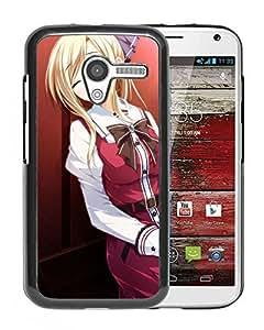 Custom Anime Kimishima Ao Otome Ga Tsumugu Koi No Canvas Shishidou Chiharu Girl Weapons Uniforms Motorola Moto X cell phone case