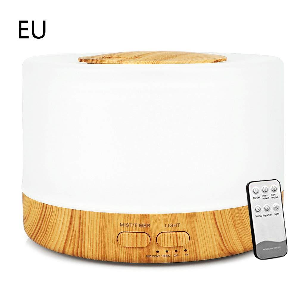 Humidificateur ultrasonique /à t/él/écommande daroma de lair 500ml avec le diffuseur /électrique darome dhuile essentielle de 7 lumi/ères de LED
