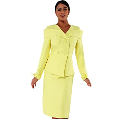 Amazon Com Kueeni Women Church Suits With Hats Special Occasion
