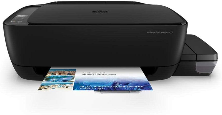 Hp Smart Tank 455 Multifunktionsdrucker Drucker Scanner Kopierer Wlan Airprint Inklusive Tinte Für Bis Zu 2