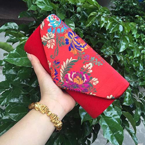 Violet Wa3TT600736 violet Pochette femme Red pour Wanfor S1wqCnSpTx