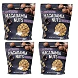 Kirkland Signature Dry Roasted Macadamia Nuts With Sea Salt - Pack of 4