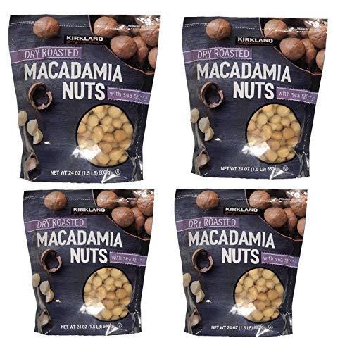 Kirkland Signature Dry Roasted Macadamia Nuts With Sea Salt - Pack of 4 by Kirkland Signature (Image #2)