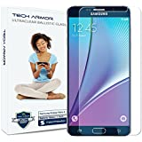 Galaxy Note 5 Glass Screen Protector, Tech Armor Premium Ballistic Glass Samsung Galaxy Note 5 Screen Protectors [1]