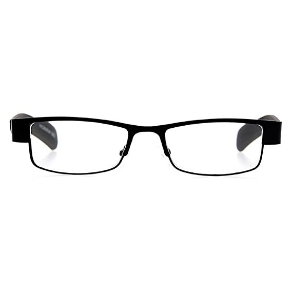 b21a38c496 Inlefen Lentes de lectura cuadrados cuadrados Viejo, hombre, lectura,  anteojos Lentes de metal Intensidad de las gafas: +1.0 a +4.0: Amazon.es:  Ropa y ...