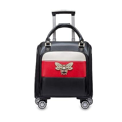 4402a2f340d0 Amazon.com: Qzny Suitcase, Mini Suitcase Large Capacity Light ...