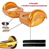 Hoverboard Gold Case Best Deals - Replacement Outer Plastic Shell for 6.5inch Smart Self Balance Wheel Balancing Electric Scooter Hoverboard Spare Parts -- Case Housing Cover DIY Repair Replace Cracked / Old Body (Yellow)